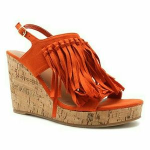 Qupid wedge heel